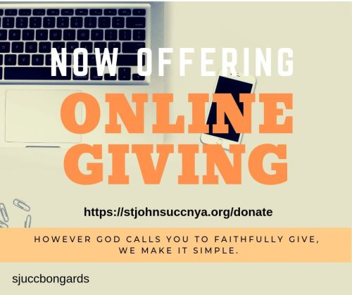 Online Giving Launch