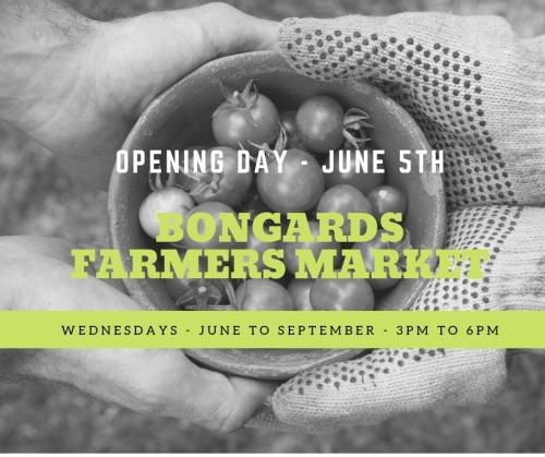 Opening Day Bongards Market