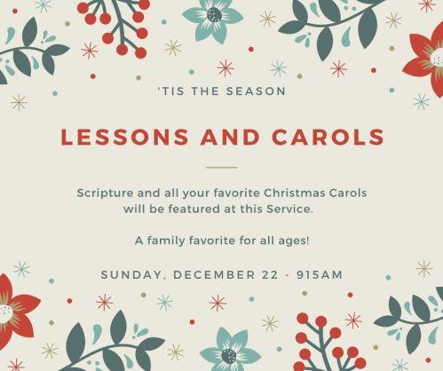 FB Post Lessons and Carols (1)