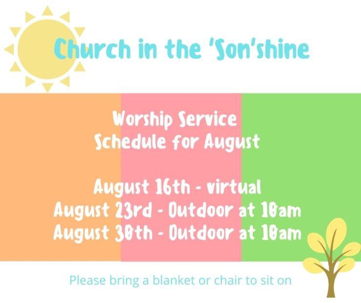 Church in the 'Son' shine