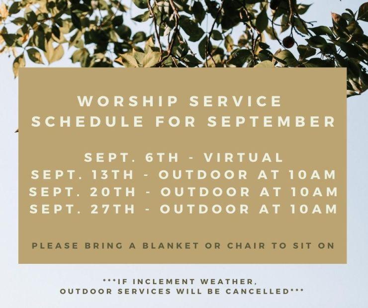 FB Post Church September
