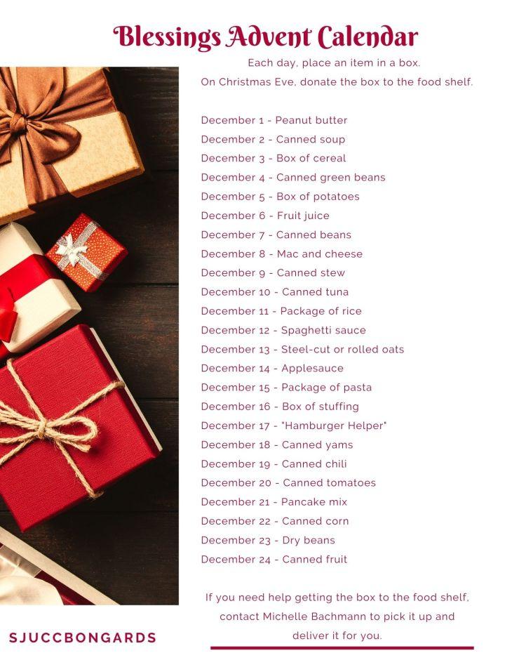 Blessings Advent Calendar
